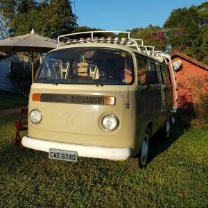 VW Camper Bus T2 1979 #K19.196