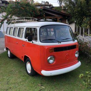 VW Camper Bus T2 1981 #K19.238
