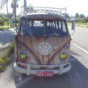 VW Bus T1 1971 #K20.375 (Rat look painting)